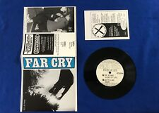 """Far Cry - 7"""" DCHC, World's Collide, Minor Threat, Government Issue, SXE, Bold"""