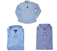 Club Room Regular Fit Double Stripe Long Sleeve Men's Button Down Shirt NWT