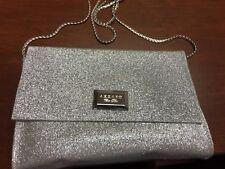 Azzaro Silver Clutch NEW