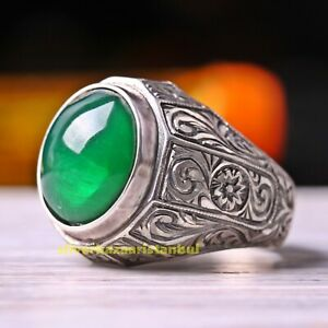 Turkish Jewelry 925 Sterling Silver Ruby Red Stone Fine Mens Ring Usa All Size