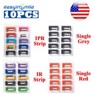 4Types Dental Orthodontic IPR/IR Strips Interproximal Reduction Enamel Reusable