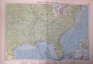 American Atlantic Ports-South Sheet, 1952, Mercantile Marine Atlas, Philip