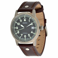 Relojes de pulsera Automatic de cuero resistente al agua