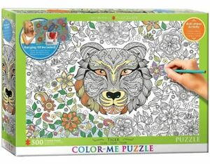 Eurographics 500 Piece jigsaw Puzzle Colour-Me 500 Tiger EG60550890