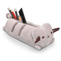 Cat Pencil & Pen Case School Accessory Zippered, Animated & Plush Pouch