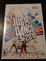 Just Dance 2019 (Nintendo Wii, 2018) NEW!!! *BUY 2 GET 1 FREE +FREE SHIPPING*