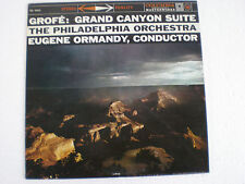 """1960's The Philadelphia Orchestra FERDE GROFE Grand Canyon Suite 12"""" 33 RPM"""