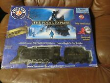 Lionel The Polar Express Train Ready-To-Play Train 7-11824 Missing Santa Bell