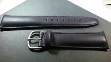 100% Genuine Tag Heuer BLACK Leather Watch Band 22MM - NEW