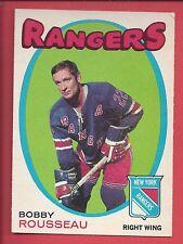 1971-72 O-Pee-Chee Hockey # 218 BOBBY ROUSSEAU