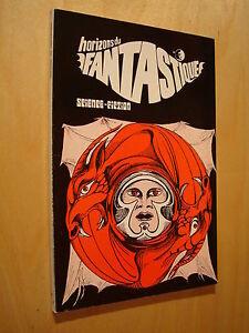 Horizons du fantastique 27 1974 Science-fiction Beckford Vathek / Daniel Walther