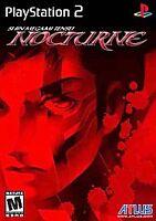 Shin Megami Tensei: Nocturne (Sony PlayStation 2/ ps2, 2004)