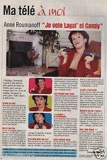 Coupure de presse Clipping 2000 Anne Roumanoff (1 page)
