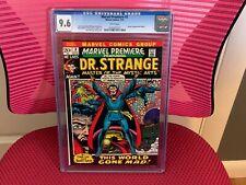 Marvel Premiere #3 CGC 9.6 white Pages Doctor Strange Dr. Strange