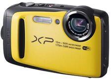 Fujifilm FinePix XP90 Waterproof Digital Camera Bundle - Yellow + FREE floating