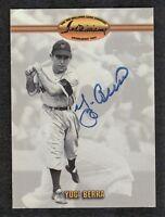 Yogi Berra {1925-2015} Signed New York Yankees 1993 Ted Williams Co Card #58 COA