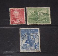 AUST 1947 ANN OF NEWCASTLE CENT ISSUES IN SET OF 3 VERY FINE F/U