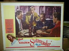 Golden Salamander, orig 1950 Lc (Trevor Howard, Herbert Lom) - Anouk on border