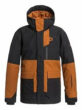 Quiksilver Youth Boys''Snow Jacket York Black black Size:10YEARS
