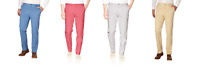 IZOD Men's Saltwater Washed Stretch Chino Flat Front Pants VARIETY Size&Color!