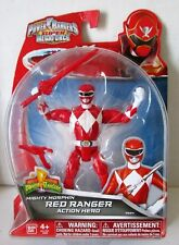 """Figurine """"POWER RANGERS"""" Super Megaforce RED RANGER 12.5 cm"""