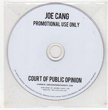 (GE120) Joe Cang, Court Of Public Opinion - DJ CD