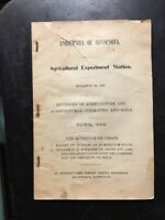 University of minnesota 1908 rotation of crops bulletin agriculture exper farm