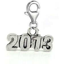 Clip on 2013 Charm Dangle Pendant for European Clip on Charm Jewelry w/ Lobster
