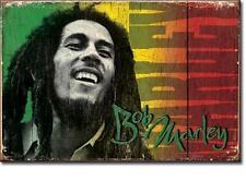Bob Marley Rasta Reggae USA Magnetschild Magnet