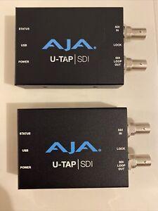 (1) AJA U-TAP SDI Simple USB 3.0 Powered SDI Capture Device