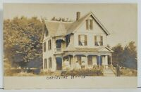 Rppc Hurleyville NY Catskills Coptpight or Cobtpight House Photo Postcard 019
