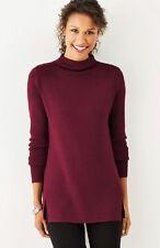 J.jill Sweater 3x Pullover Side Zip Port