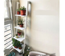 A18 Ladder-shaped Storage Collecting Rack Bookshelf Shelves Holder Livingroom