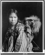 "1901 Repro vintage Foto 6X4 /"" Eskimo Inuit ALASKA USA COLVILLE River"