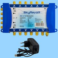 Multischalter 5-12 Digital HDTV 12 Teilnehmer SATBLOCK Multiswitch SAT Verteiler