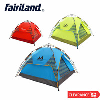 Easy Setup 3 Person Outdoor Camping Tent Lightweight Backpacking Hiking Tents