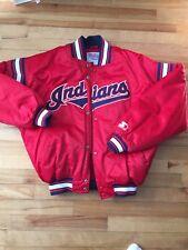 Vintage Starter Clevland Indians Starter Jacket Size Large Wow