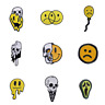 Pin Brooches Badges Backpack Smile Face Different Hard enamel lapel Hat Goth