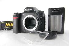 Nikon D80 Digital SLR DSLR Body Camera Black [Excellent w/ Caps and so on