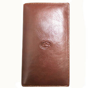Leather Wallet Mens Brown Italian Leather Tony Perotti TP-1817
