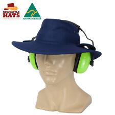 Newcastle Hats Earmuff Hat (Standard) Wide Brim UPF50+