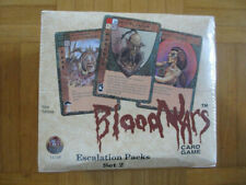 Blood Wars Escalations Packs Set 2 Factols & Factions Booster Display NEW ccg
