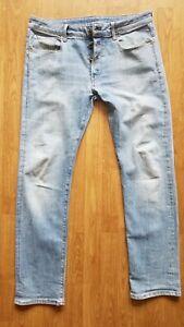 G-Star Raw 3301 Straight Herren Jeans Hose W36 L34