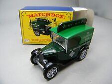 Matchbox MoY C2 Y65 Austin 7 MICA Yesteryear Book grün Sitz weiß OVP Bilder K04