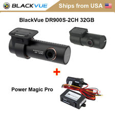 BlackVue 2 Channel DR900S-2CH 32GB + Power Magic Pro