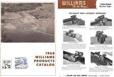 Williams 1968 Gun Sights Catalog