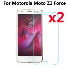 2Pcs Tempered Glass Film Cover Screen Protector For Motorola Moto Z2 Force