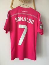 REAL MADRID 2014 2015 AWAY PINK FOOTBALL SHIRT JERSEY ADIDAS CRISTIANO RONALDO 7