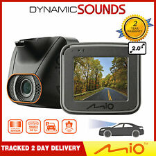 "Mio Mivue C540 2"" Dash Camera Full HD 1080p Video Recording 3-Axis G-Sensor 130°"