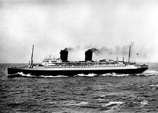 RPC Cie Gle Transatlantique French Line SS ILE DE FRANCE